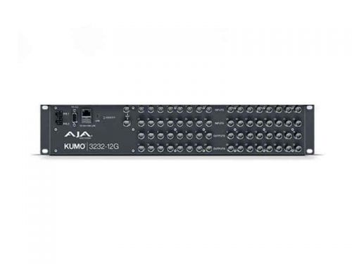 AJA KUMO 3232-12G (KUMO323212G) 32x32 Compact 12G-SDI Router with 1 Power Supply