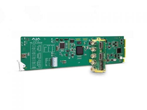 AJA OG-HA5-4K (OGHA54K) OpenGear 4K/UltraHD/2K/HD/SD HDMI 2.0 to 3G-SDI Conversion with DashBoard Support