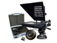 "Autocue/QTV 10"" Prompter Package, QStart, Controller & Carry Case"