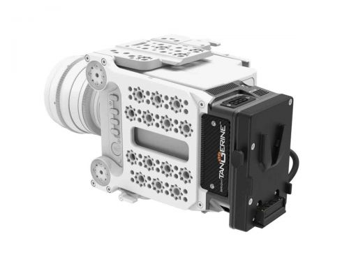 Bright Tangerine Alexa Mini Power Distribution Module (V-Mount)