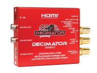 Decimator Design 2 - 3G/HD/SD-SDI to HDMI with de-embed Analogue Audio
