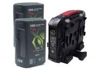 IDX EC-H135/4X2 2 x CUE-H135 Batteries 1 x VL-4X Charger with 4 pin XLR DC Output (90W)