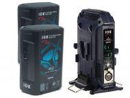 IDX EC-H180/2X 2 x CUE-H180 Batteries 1 x VL-2X Charger with 4 pin XLR DC Output (36W)