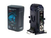 IDX EC-H180/2X1 1 x CUE-H180 Battery 1 x VL-2X Charger with 4 pin XLR DC Output (36W)
