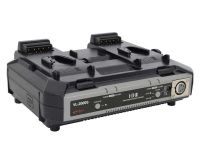 IDX System Technology VL-2000S Simultaneous Quick Charger with 100W DC Output (2-Channel )