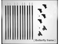 Kupo 12x12 Butterfly Frame