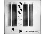 Kupo 20x20 Butterfly Frame