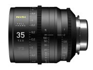 Nisi F3 35mm Full Frame Lens T2.0 - PL Mount, Metric Focus Scale