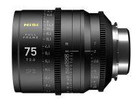 Nisi F3 75mm Full Frame lens T2.0 - Sony E, Imperial Focus Scale