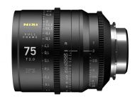 Nisi F3 75mm Full Frame lens T2.0 - PL Mount, Metric Focus Scale