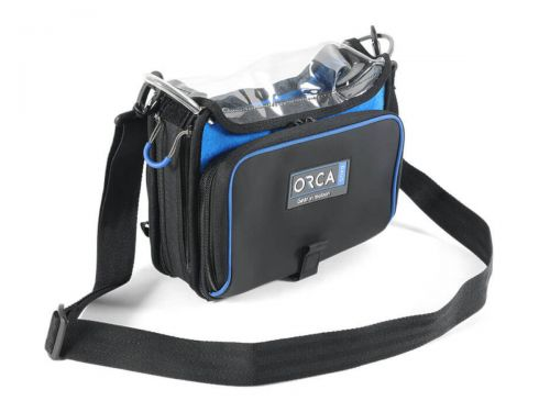 Orca OR-272 Low Profile Audio Mixer Bag for Zoom F4/F8N, Zaxcom Nova, Sound Devices MixPre-10