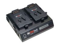 PAGlink PL16 Linking Battery Charger (2 x V-Mount)