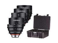 Samyang Xeen Full Frame 4K+ Cine Lens Kit 14/24/35/50/85 mm EF