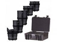 Samyang VDSLR MK2 5 Lens Kit Canon EF