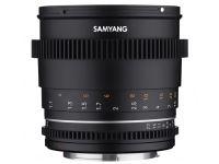 Samyang 85mm T1.5 VDSLR MK2 - Canon RF
