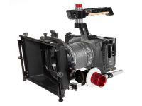 Shape BlackMagic Pocket Cinema 4K Cage Kit: Includes Matte Box & Follow Focus