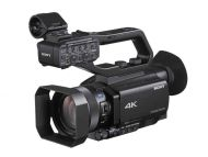 Sony HXR-NX80 (HXRNX80) NXCAM Compact 4K Camcorder with Exmor RS CMOS Sensor and 12x Zoom Lens