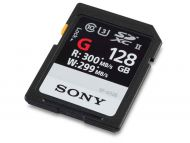 Sony SF-128G 128GB SF-G Series UHS-II Class 10 SDXC Memory Card with up to 300MB/s Transfer Speed