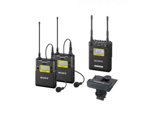 Sony URX-P03D/33KIT Dual-Channel UWP-D Receiver and Transmitter Kit