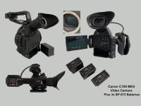 USED Canon C100 MKII Camera