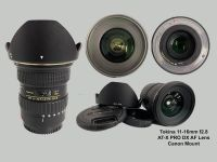 USED Tokina 11-16mm AT-X Pro Lens