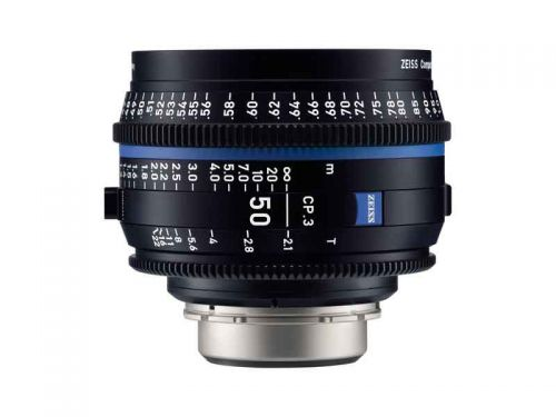 Zeiss CP.3 50mm T/2.1 - EF Mount (Imperial Focus)