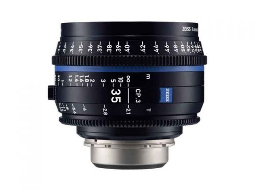 Zeiss CP.3 35mm T/2.1 - EF Mount (Imperial Scale)