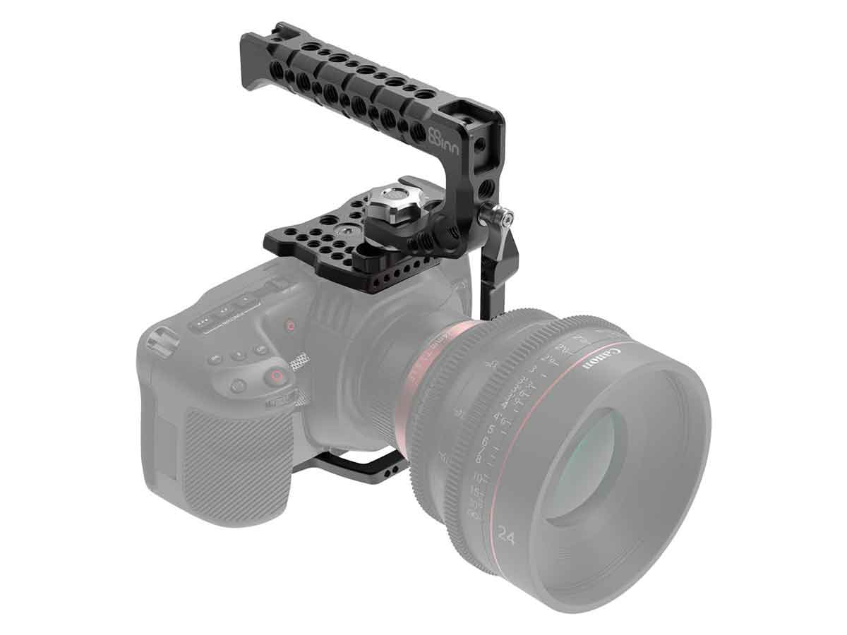 Buy 8sinn Blackmagic Design Pocket Cinema Camera 4k 6k Half Cage Top Handle Scorpio Production Gear Ltd Broadcast And Professional Cameras Accessories