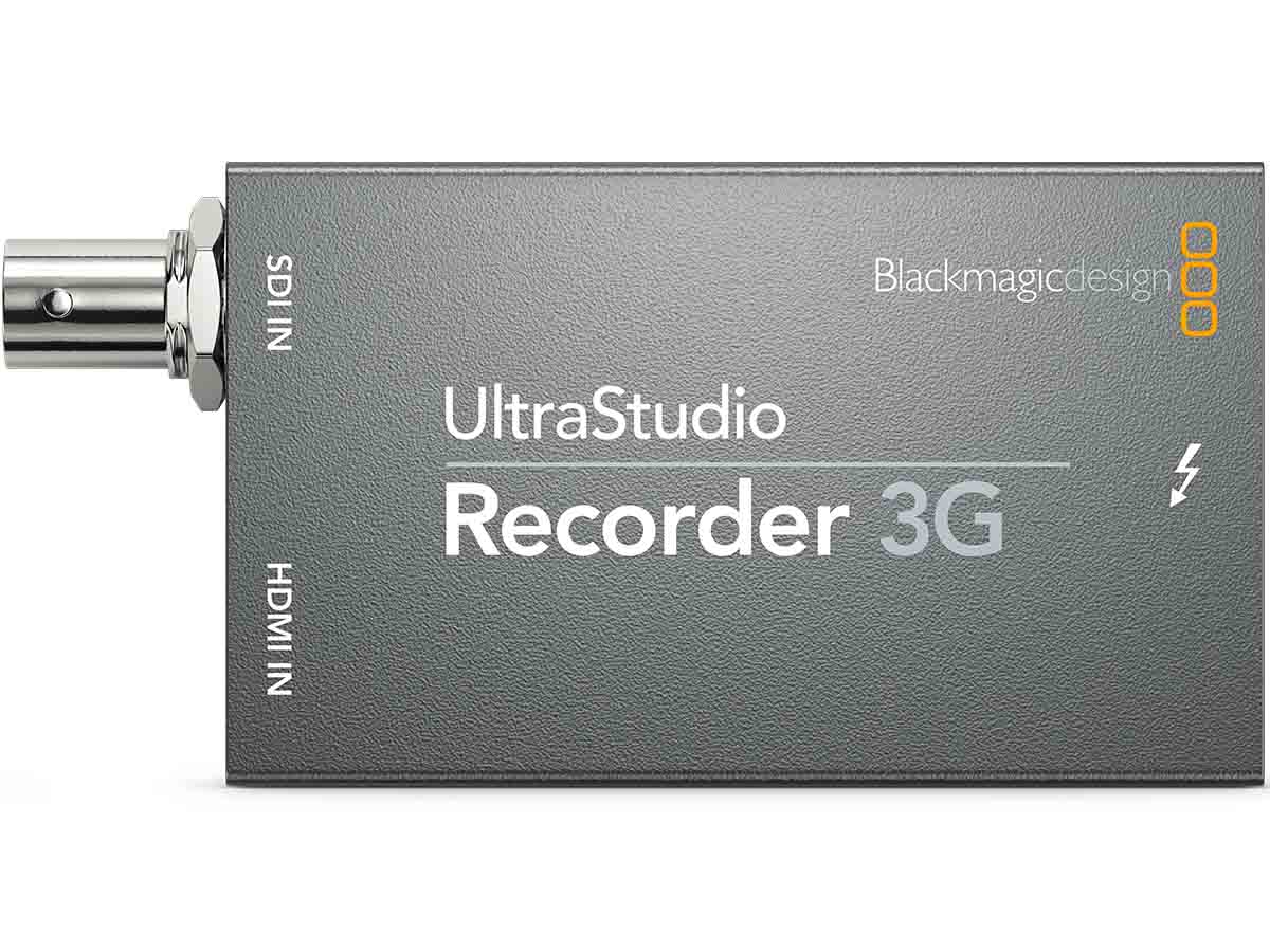 Buy Blackmagic Ultrastudio Recorder 3g Production Gear Ltd Broadcast And Professional Cameras Accessories