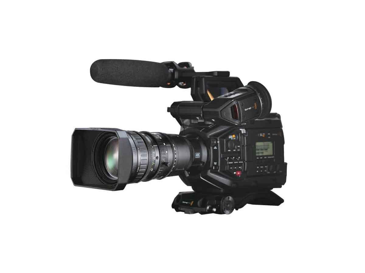 Buy Blackmagic Design Ursa Broadcast And Fuji La16x8 Lens Bundle Production Gear Ltd Broadcast And Professional Cameras Accessories