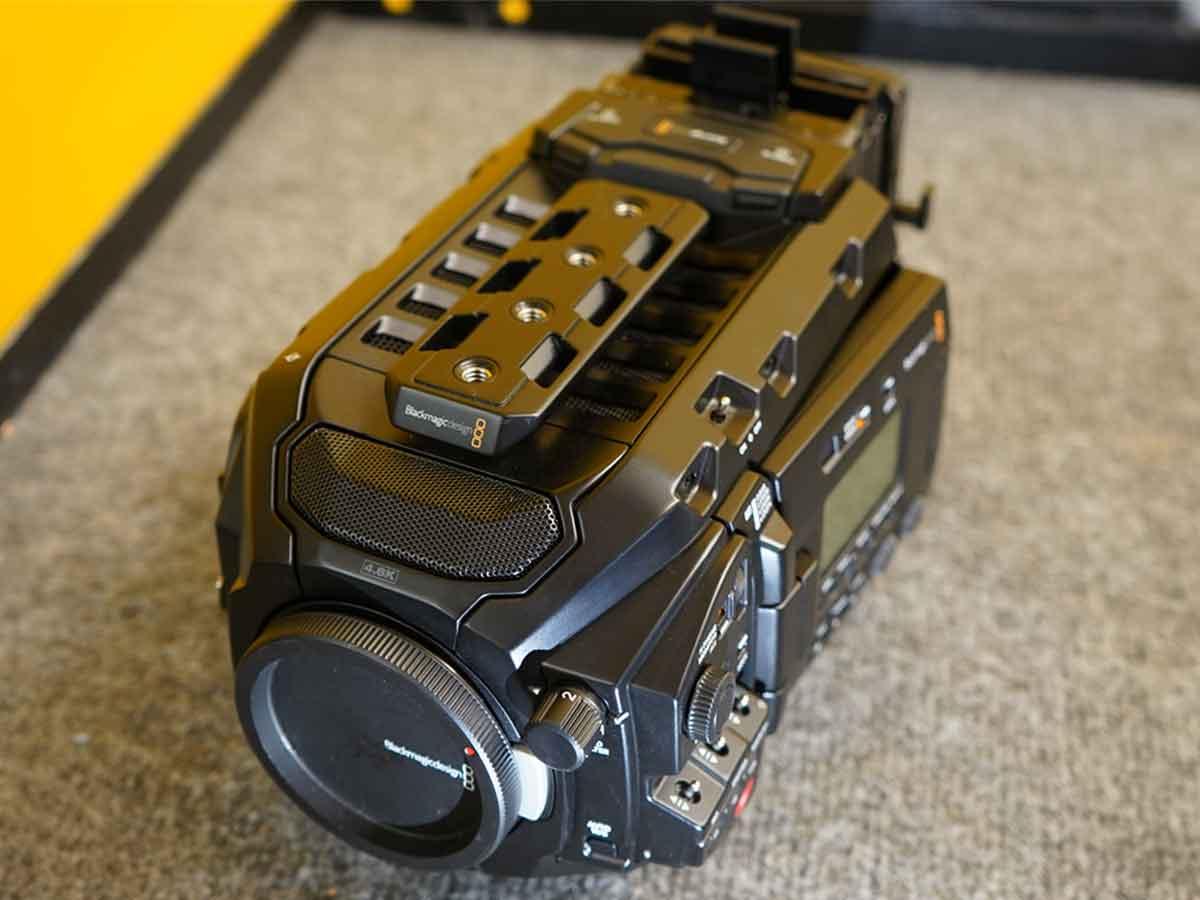 Used Blackmagic Design URSA Mini Pro (Body Only) with Hard Drive Bay  Modification