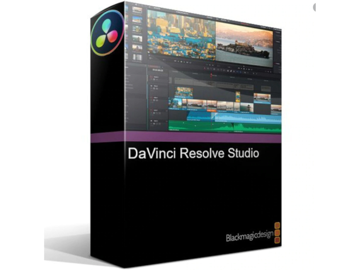 Buy Blackmagic Design Davinci Resolve Studio 17 Production Gear Ltd Broadcast And Professional Cameras Accessories