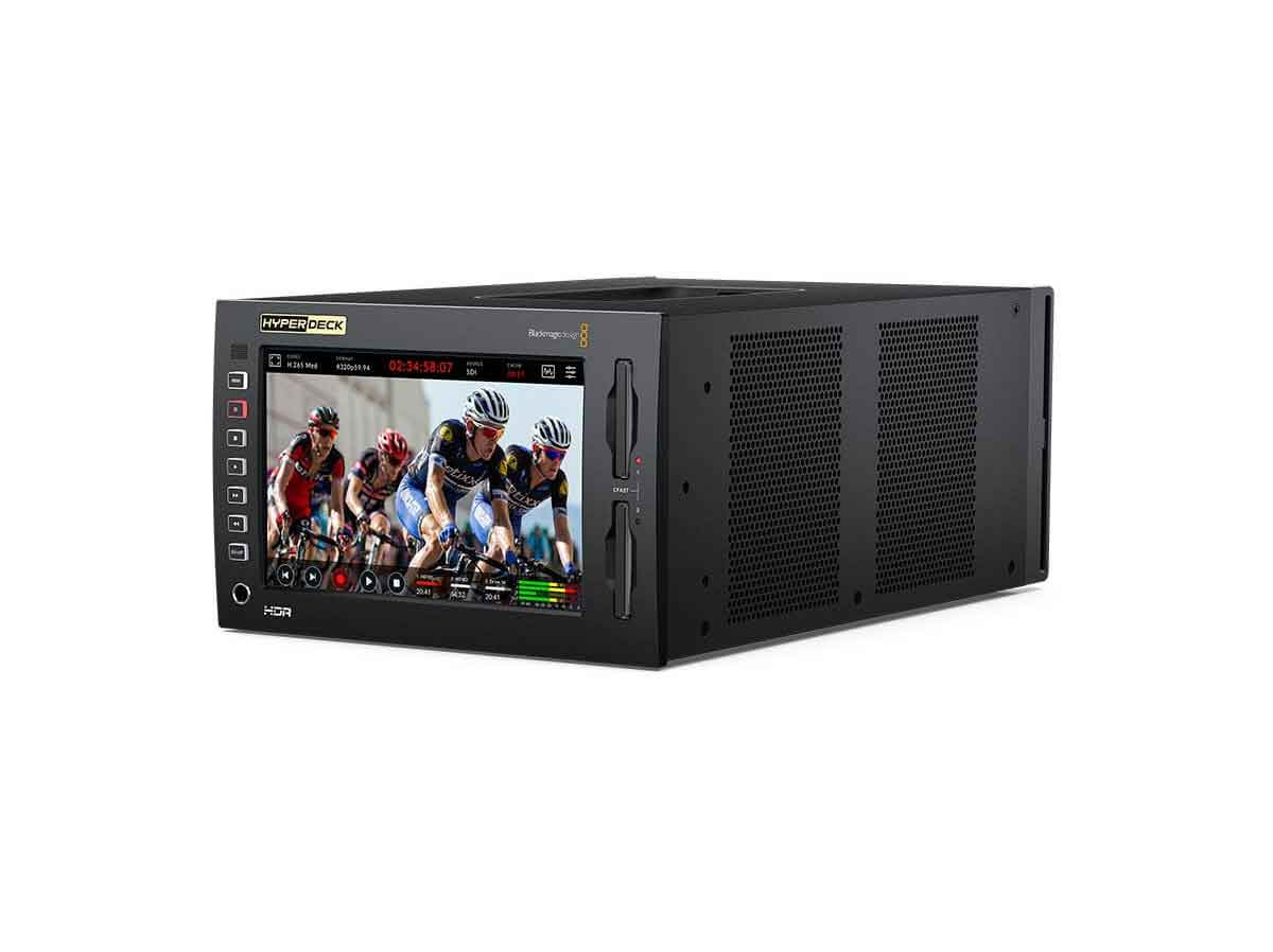 Buy Blackmagic Design Hyperdeck Extreme 8k Hdr Production Gear Ltd Broadcast And Professional Cameras Accessories