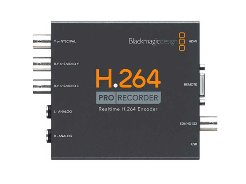 Buy Blackmagic Design H264 Pro Recorder Production Gear Ltd Broadcast And Professional Cameras Accessories