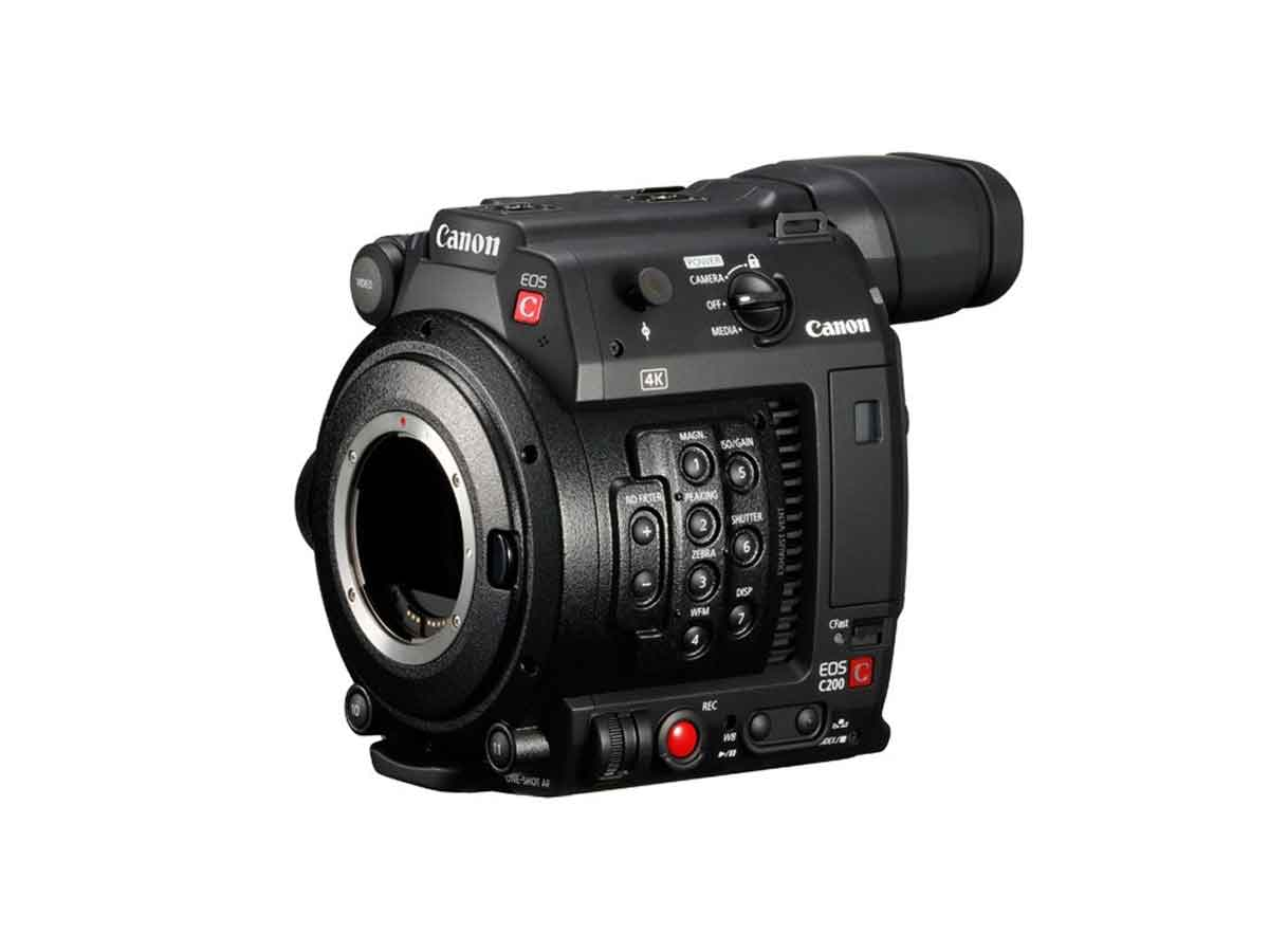 Canon EOS C200 Cinema Camera (Body Only) + CFAST 128G and Reader