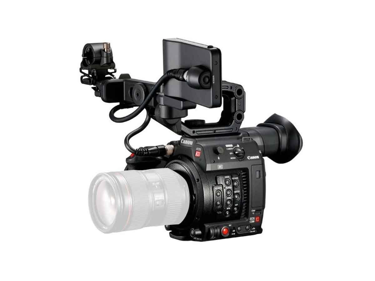 Canon EOS C200 4K Cinema Camera and Atomos Ninja V Power Kit