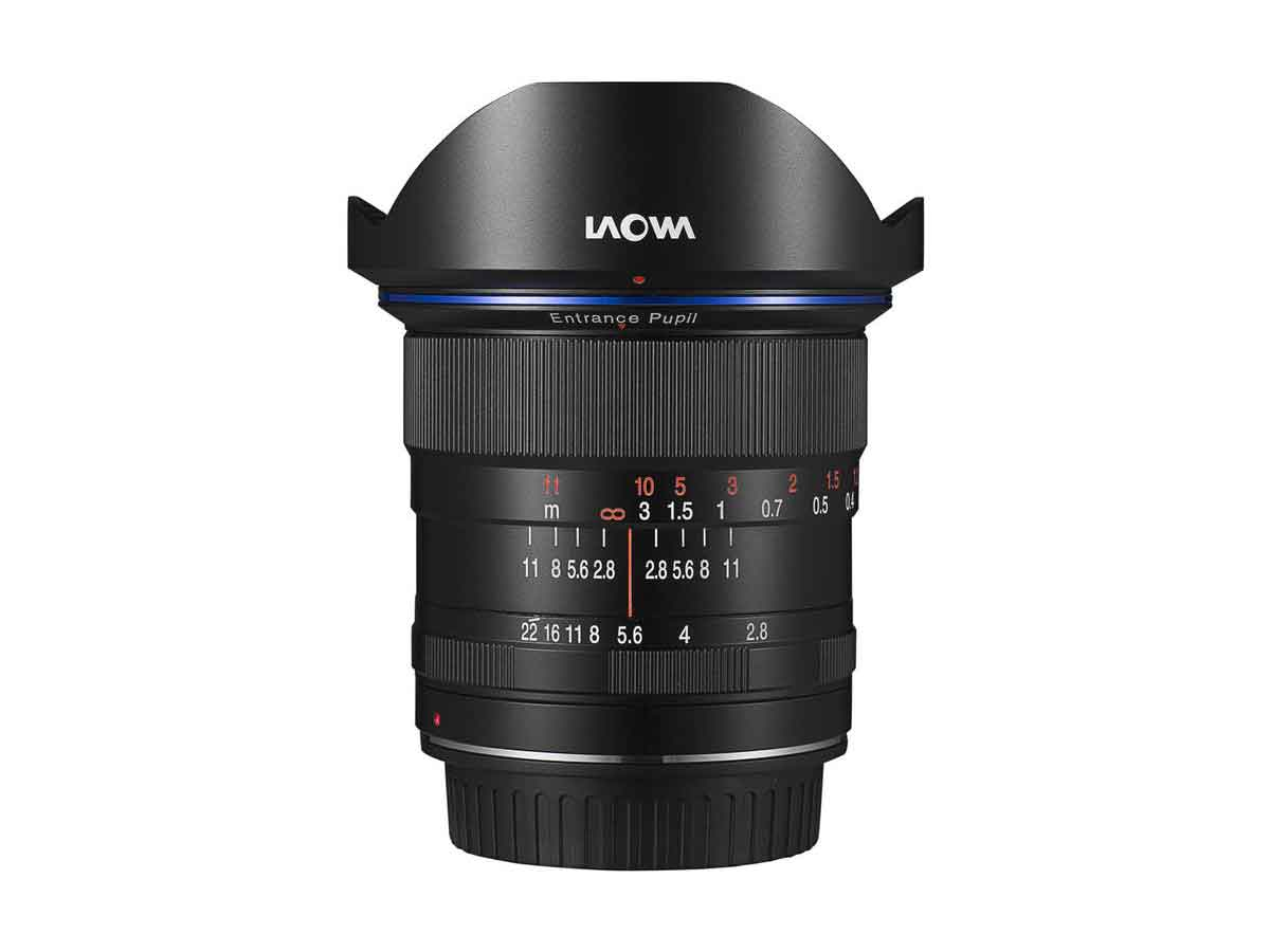 Laowa 12mm f/2 8 Zero-D Ultra Wide Angle Zoom Lens (Black) - Canon EF Mount