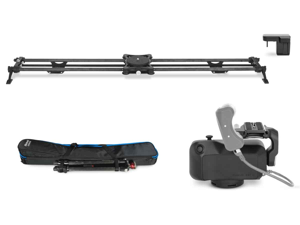 Buy Rhino Camera Gear Time Lapse Slider Bundle Production Gear Ltd Broadcast And Professional Cameras Accessories