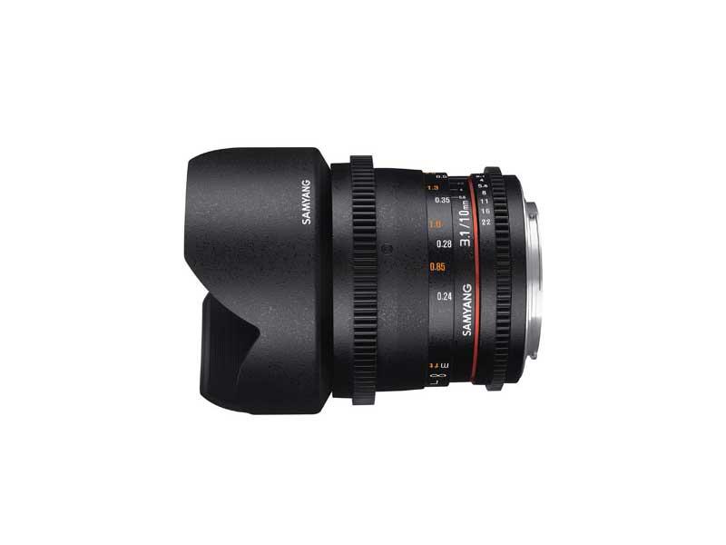 SAMYANG MF 10mm T3,1 Video APS-C Canon EF   Objektive