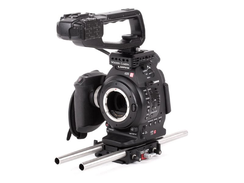 Wooden Camera - Canon C100, C100mkII Unified Accessory Kit (Base)
