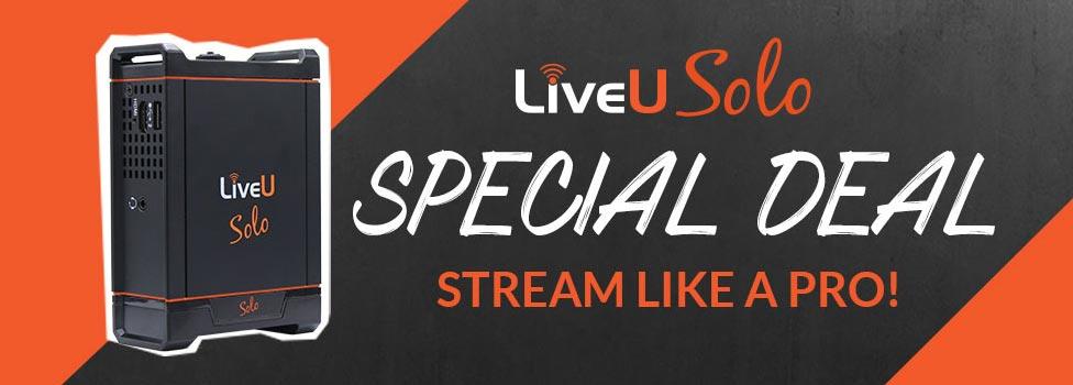 LiveU Solo 10% Promo