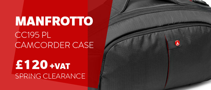 Manfrotto Camcorder Case Savings