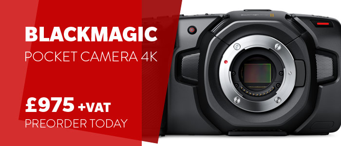 Blackmagic Design Pocket 4K PrOrder