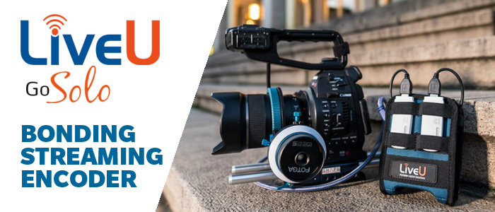 LiveU Solo Streaming Encoder