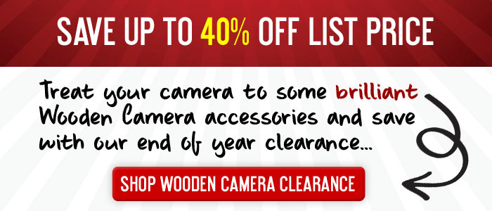 Wooden Camera Clearance